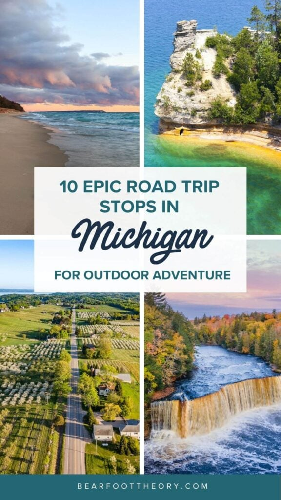 Plan your Michigan road trip with this guide to the best stops for outdoor adventure, including the Upper Peninsula and Western Michigan.