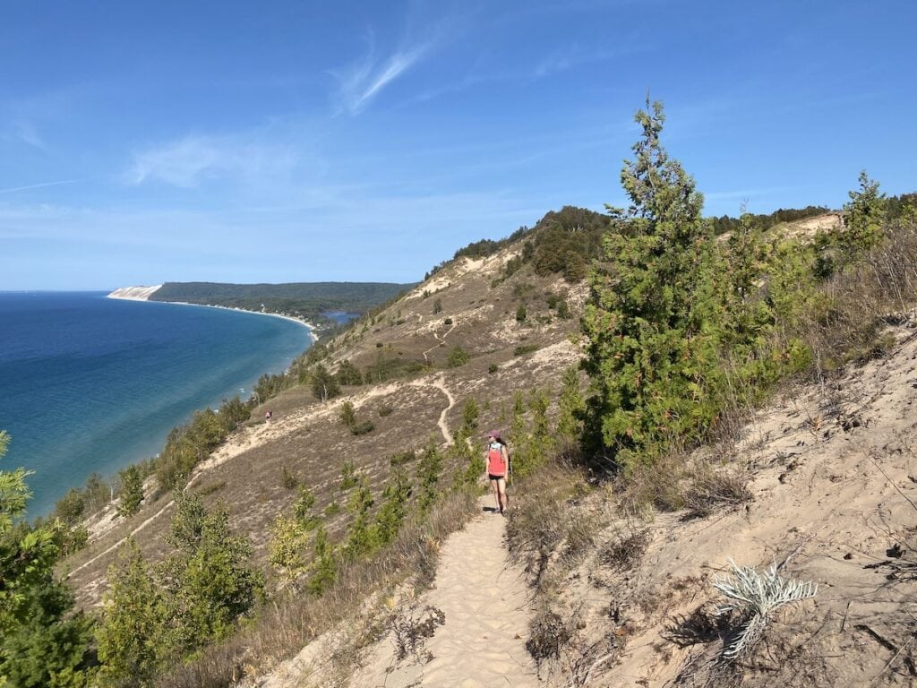 Sleeping Bear National Lakeshore, Michigan // hiking one of the best trails for outdoor adventure