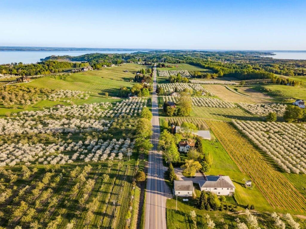 Traverse City Michigan // Plan your Michigan road trip with this guide to the best stops for outdoor adventure, including the Upper Peninsula and Western Michigan.