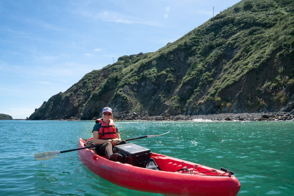 Kayaking Avila Beach // Learn about the best time to visit California's Central Coast, plus the best activities to do in each season when you're there.