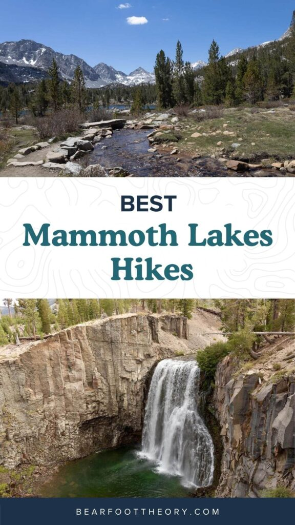 Discover the best Mammoth Lakes hikes with stunning views of the Eastern Sierra, crystal clear lakes, alpine meadows, and more!