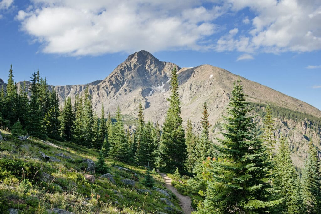 Mount of the Holy Cross // backpacking a 14er in Colorado