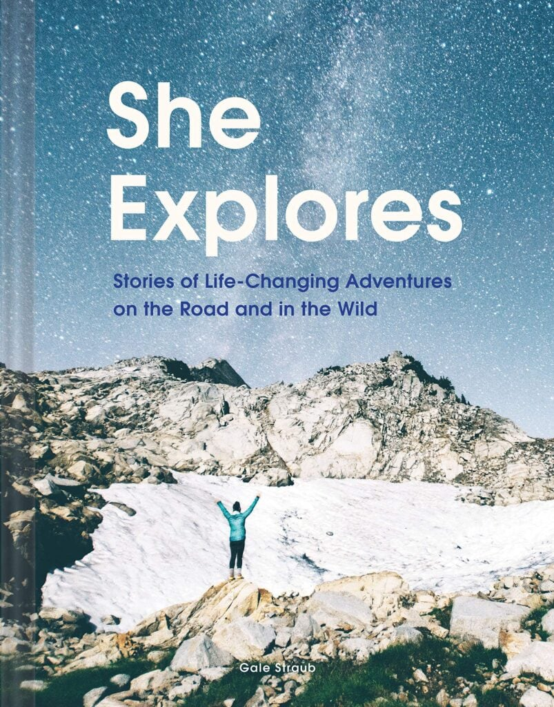 She Explores // A list of the best adventure & inspirational books about the outdoors for anyone who wants a little more adventure in their everyday life.