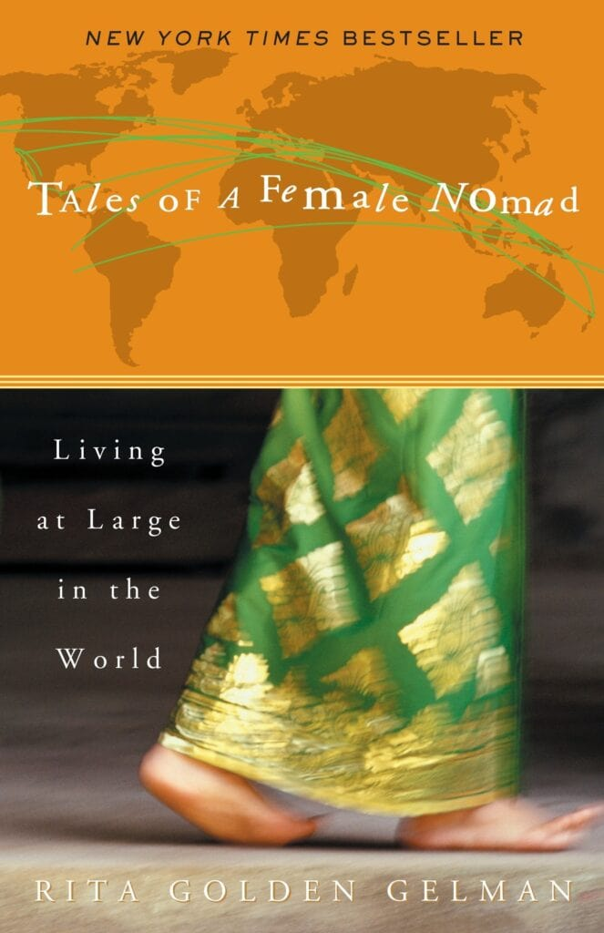 Tales of a Female Nomad // A list of the best adventure & inspirational books about the outdoors for anyone who wants a little more adventure in their everyday life.