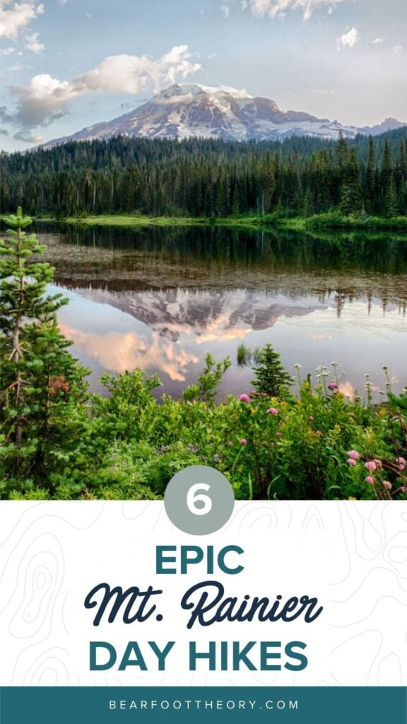 Plan your trip to Mt Rainier National Park with our guide to the best Mt Rainier hikes for epic trail views during the summer.