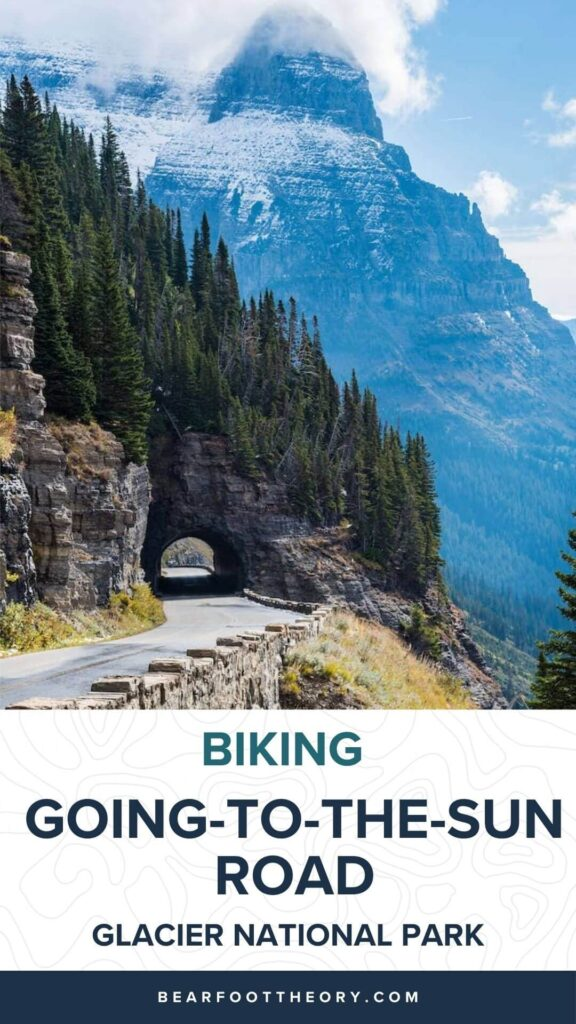 Learn insider tips on biking Going-to-the-Sun Road in Glacier National Park including the best time to visit, what sights to see, and more.