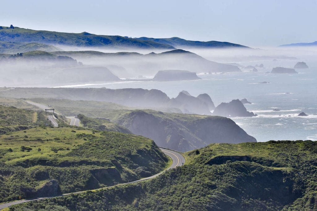 California Highway 1 // The best California road trips stops for outdoor adventure including California's National Parks, monuments, coastal towns, and more.