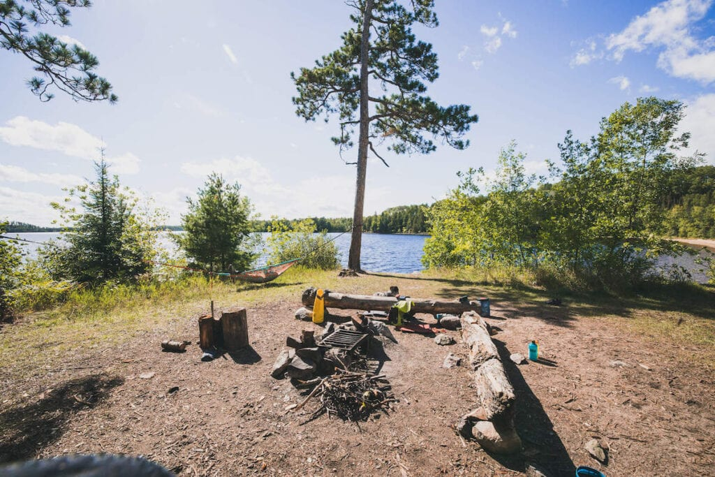 BWCA Camping // Start planning your Minnesota Boundary Waters canoe trip with this complete guide including BWCA entry points, Boundary Water camping, & more