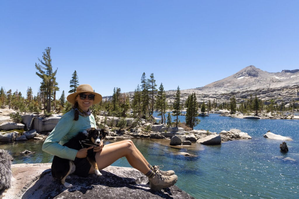 Lake Aloha Desolation Wilderness // Here are 12 of the best summer Lake Tahoe activities for an adventure-packed vacation from hiking to biking to water sports.