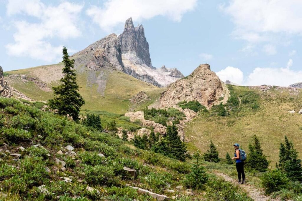 Lizard Head Trail // Learn about 7 of the best Telluride hikes including distance, elevation gain, and directions to the trailheads.