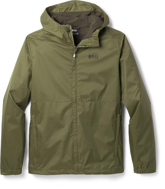REI Groundbreaker rain jacket