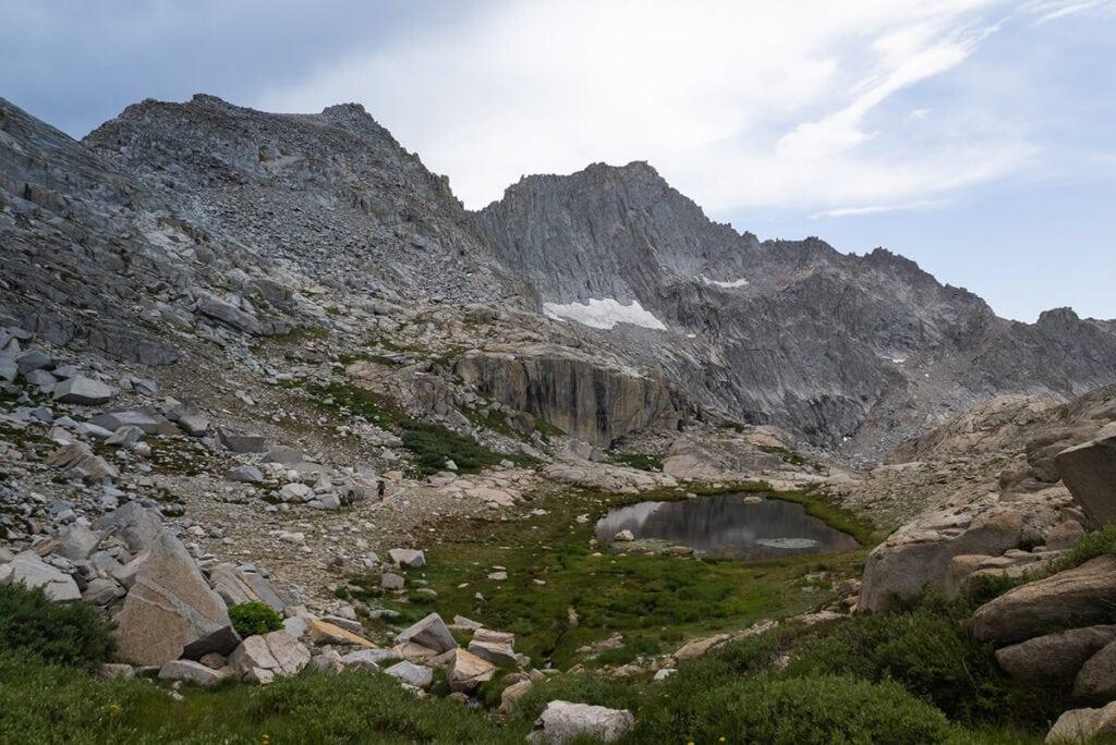 Kaweah Gap on the Mineral King Loop trail in Sequoia National Park