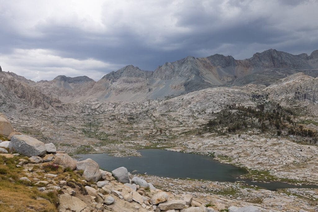 Nine Lakes Basin on the Mineral King Loop in Sequoia National Park
