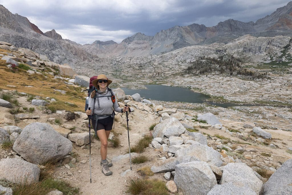 Kristen backpacking / Check out the best deals on our favorite outdoor gear and clothing and save big during the REI Labor Day Sale with discounts up to 30% off!