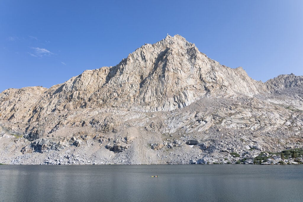Big Five Lakes on the Mineral King Loop in Sequoia National Park