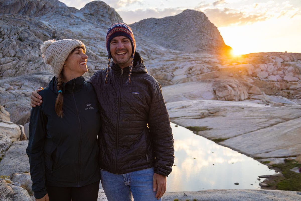 Sunset at Columbine Lake / Check out the best deals on our favorite outdoor gear and clothing and save big during the REI Labor Day Sale with discounts up to 25% off!