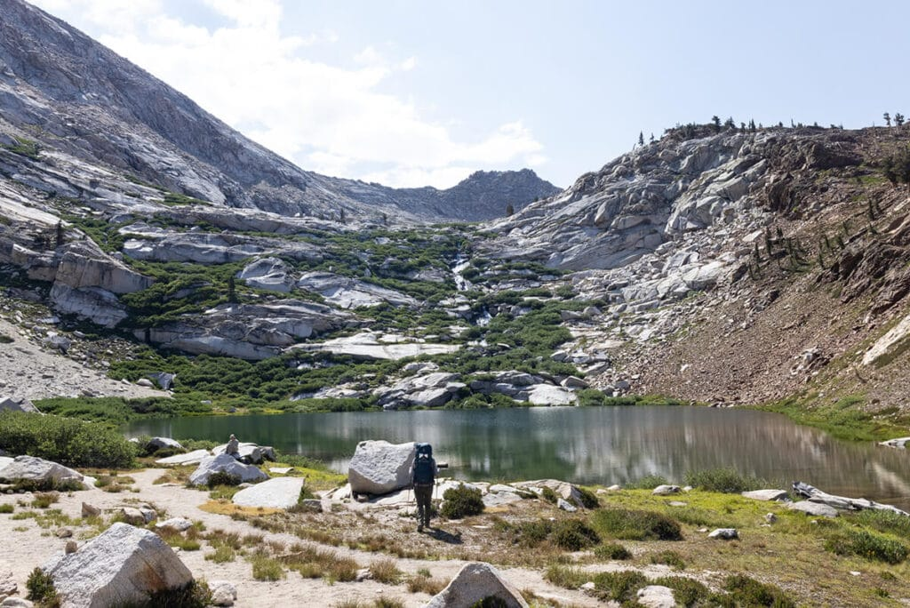 Monarch Lakes in Sequoia National Park