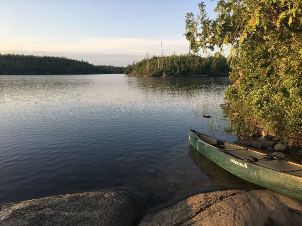 Boundary Waters // See the top Minnesota road trip stops for outdoor adventure including State Parks, scenic drives, waterfalls, and day trips from Minneapolis.