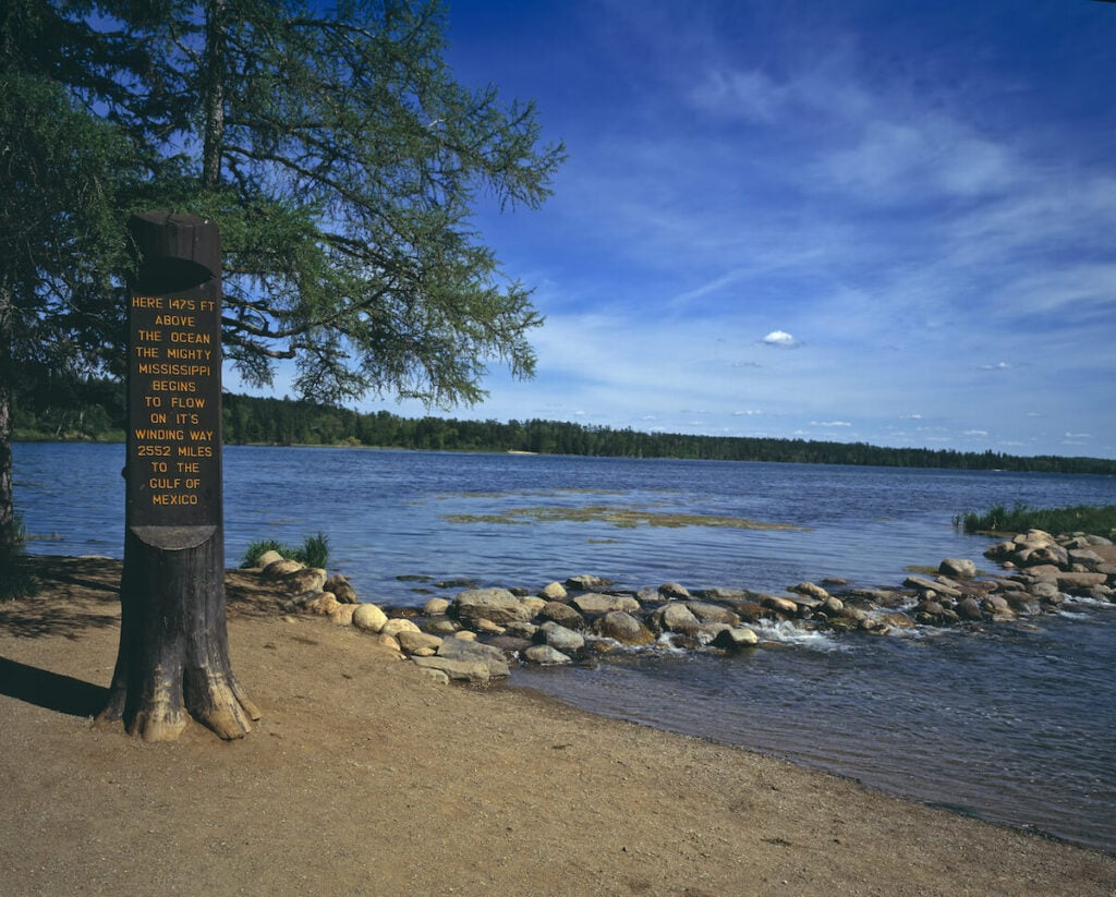 Itasca State Park // See the top Minnesota road trip stops for outdoor adventure including State Parks, scenic drives, waterfalls, and day trips from Minneapolis.