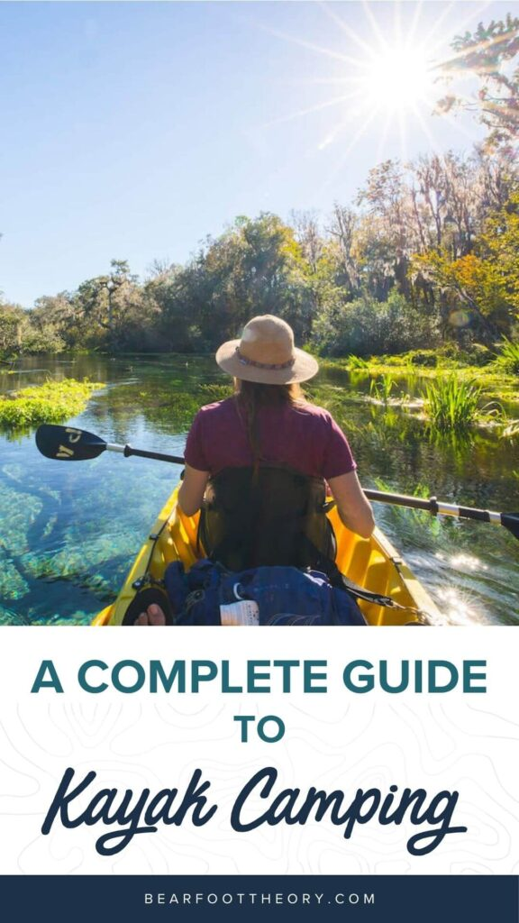 Learn the best kayak camping tips for beginners including essential kayak camping gear, how to pack a kayak, tips for buying a kayak, & more.
