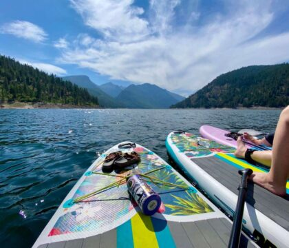 Discover the best things to do at Lake Como, Montana including the top hikes, where to rent kayaks and paddle boards, where to camp, & more.