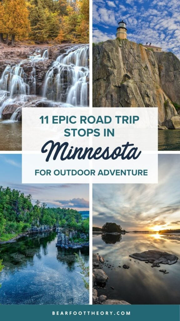 See the top Minnesota road trip stops for outdoor adventure including State Parks, scenic drives, waterfalls, and day trips from Minneapolis.