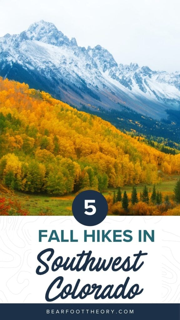 Learn about the best fall hikes in Southwest Colorado near Durango, Telluride, and Great Sand Dunes National Park with trail stats and more.