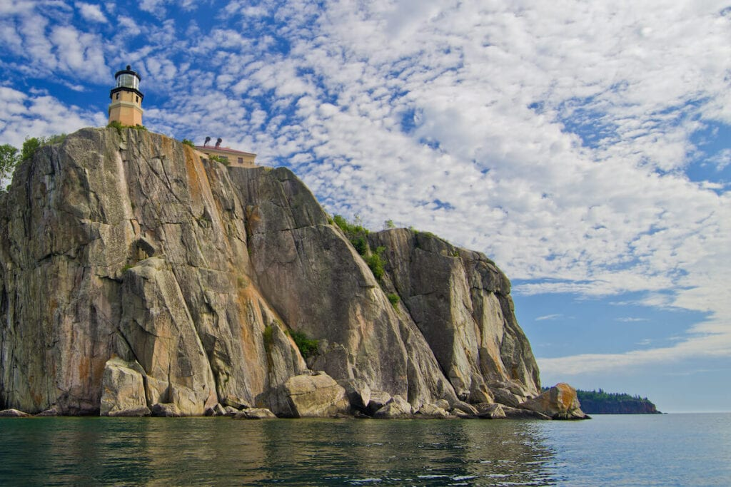 Split Rock Lighthouse // See the top Minnesota road trip stops for outdoor adventure including State Parks, scenic drives, waterfalls, and day trips from Minneapolis.