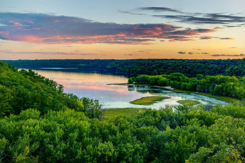 St. Croix State Park // See the top Minnesota road trip stops for outdoor adventure including State Parks, scenic drives, waterfalls, and day trips from Minneapolis.