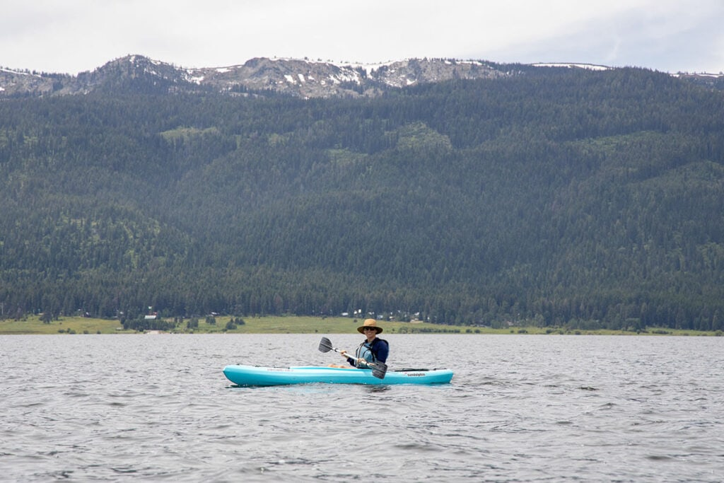 Kayaking in Idaho / Here's how to help prevent the spread of aquatic invasive species by following Clean Drain Dry whether you're rafting, kayaking, or boating.
