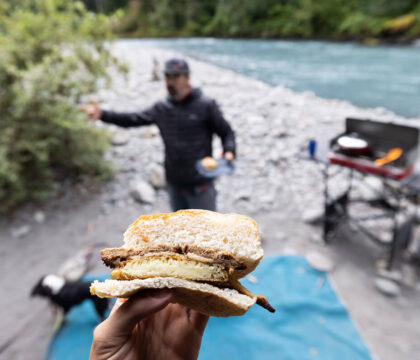 Power your day with these 5 easy vegan plant-based breakfasts with minimal cleanup for van life and camping.